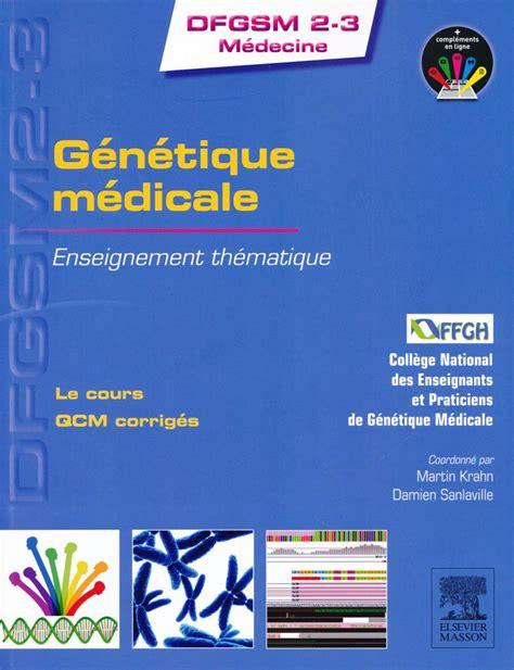 Génétique médicale.