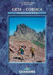 GR20: Corsica: The High Level Route (Cicerone Guides)