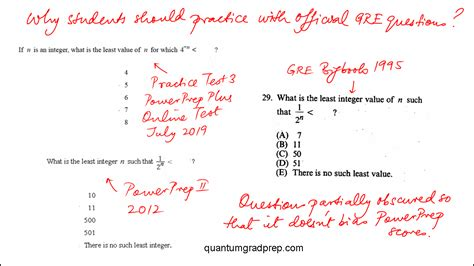 GRE Official Practice Test