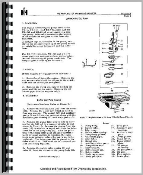Galion 303 Grader Ih Engine Manual