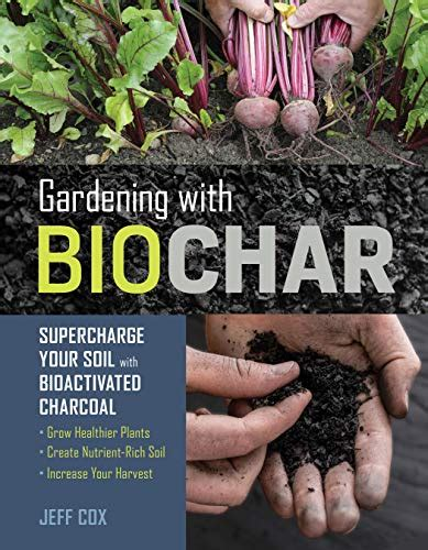 Gardening With Biochar Supercharge Your Soil With Bioactivated Charcoal Grow Healthier Plants Create Nutrient Rich Soil And Increase Your Harvest