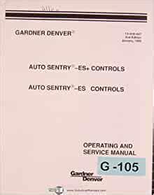 Gardner Denver Auto Sentry Es Manual