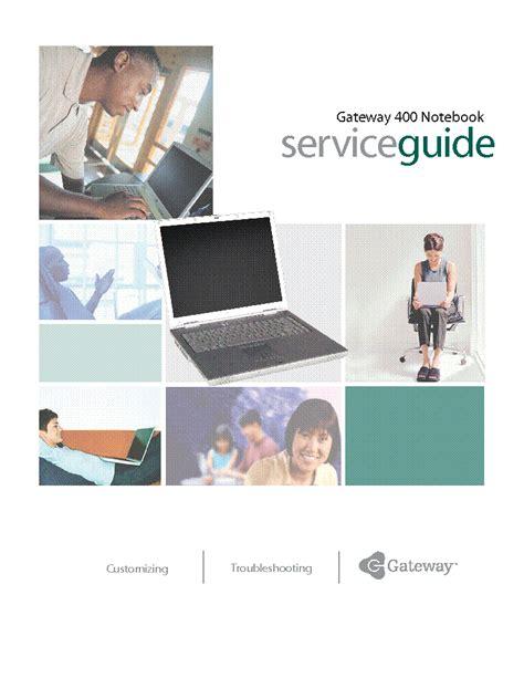 Gateway 400 Manual