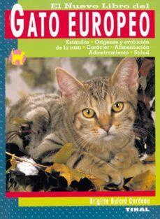 Gato Europeo Nuevo Libro Del