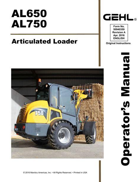 Gehl V270 Manual
