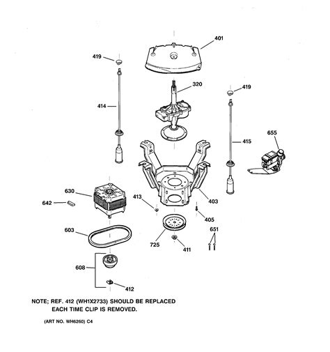 General Electric Washer Diagrams
