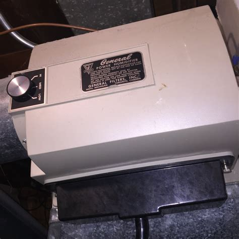 General Power Humidifier Manual