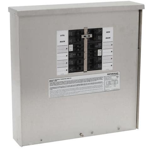 Generator Manual Transfer Switch 200 Amp