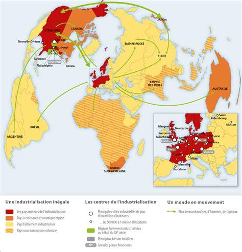 Geographie industrielle du monde