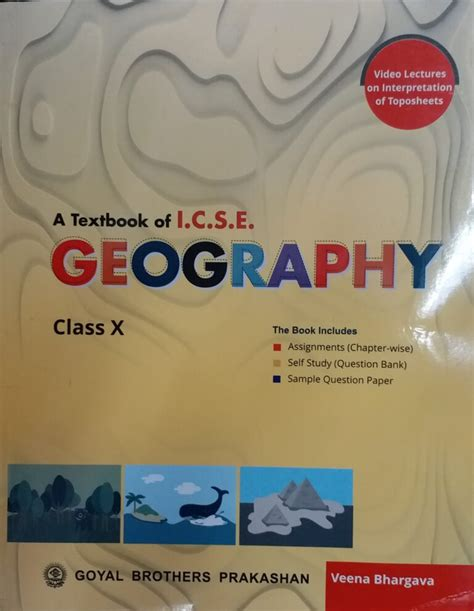Geography Guide For Class 10 Icse