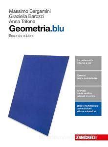 Geometria Blu Per Le Scuole Superiori Con Contenuto Digitale Fornito Elettronicamente