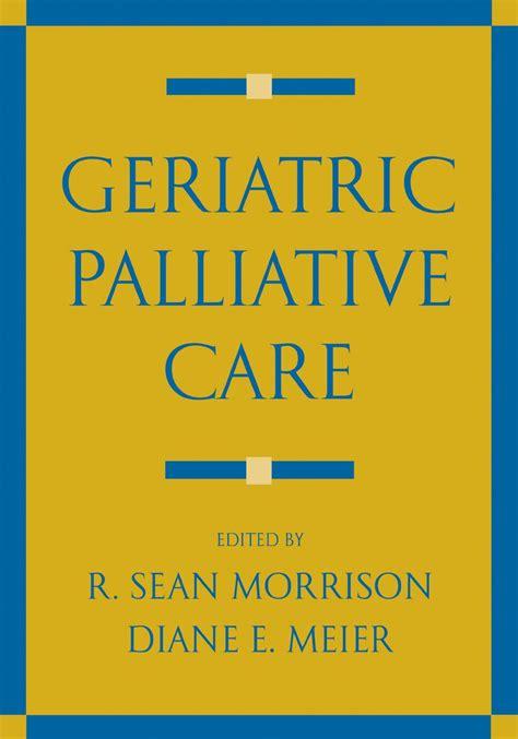 Geriatric Palliative Care English Edition