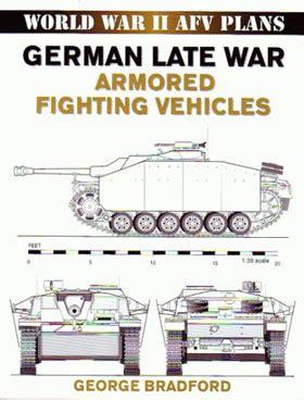 German Late War Armored Fighting Vehicles World War Ii Afv Plans