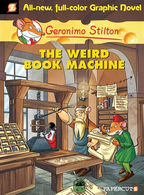 Geronimo Stilton Graphic Novels 9 The Weird Book Machine
