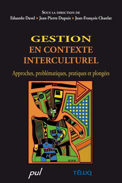 Gestion En Contexte Interculturel Approches
