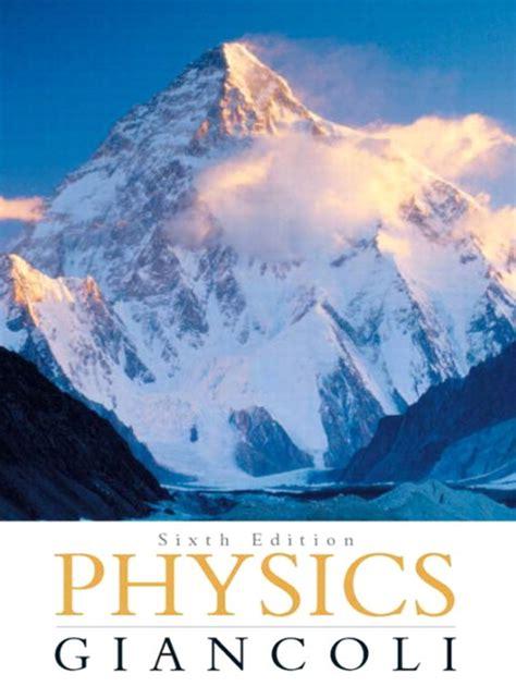 Giancoli 6 Edition Solution Manual