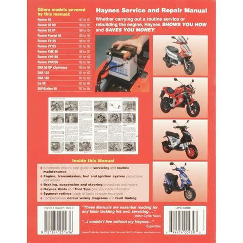 Gilera Ice Manual