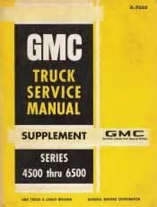 Gmc 4500 Service Manual