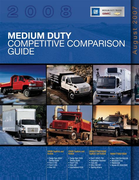 Gmc C5500 Manual