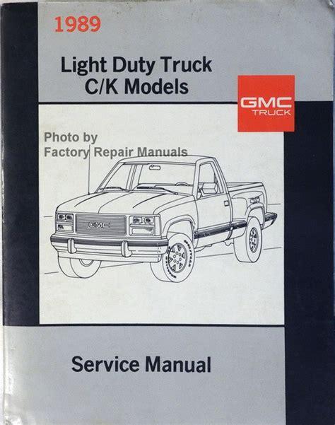 Gmc Repair Manuals