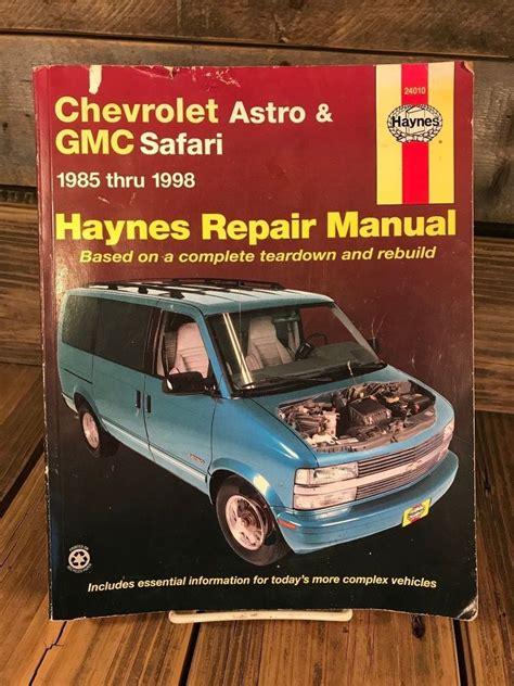 Gmc Safari 4wd Manual