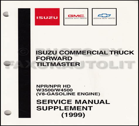 Gmc W4500 Service Manual Repair