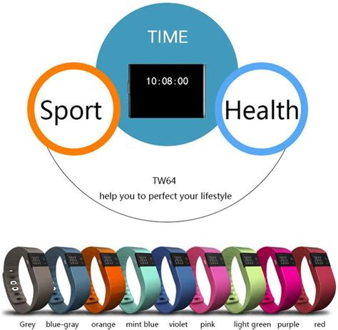 Gobuy Tw64 Bluetooth V4 0 Smart Watch Sport Wristband Sport Jogging Bracelet Activity Tracker Podometre Rappel Pour Ios 6 1 Version Android 4 3 Version