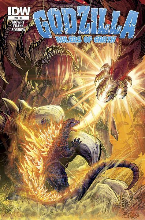 Godzilla Rulers Of Earth Volume 4 Godzilla Rulers Of Earth Godzi