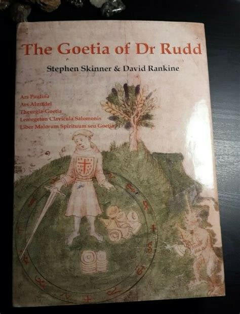 Goetia Of Dr Rudd Sourceworks Of Ceremonial Magic