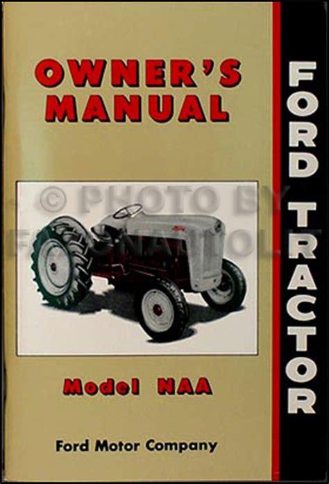 Golden Jubilee Naa Tractor Manual