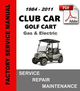 Golf Cart Troubleshooting Guide For Club Cart