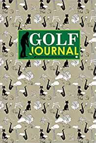 Golf Journal Blank Golf Yardage Books Golf Record Sheet Golf Course Notes Golf Yardage Book Paper Cute Paris And Music Cover Volume 51