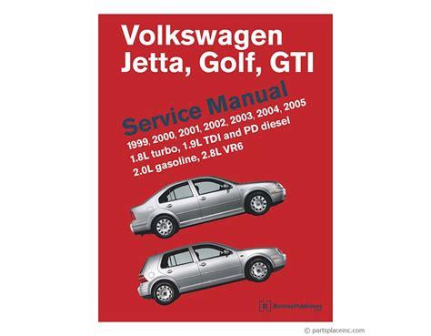 Golf Mk4 Bentley Manual