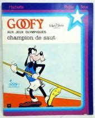 Goofy Champion De Gymnastique Petite Fleur