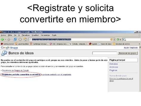 Google Groups Manual