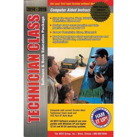 Gordon West Technician Class Study Manual 2014