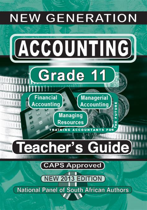 Grade 11 Accounting Teachers Guide