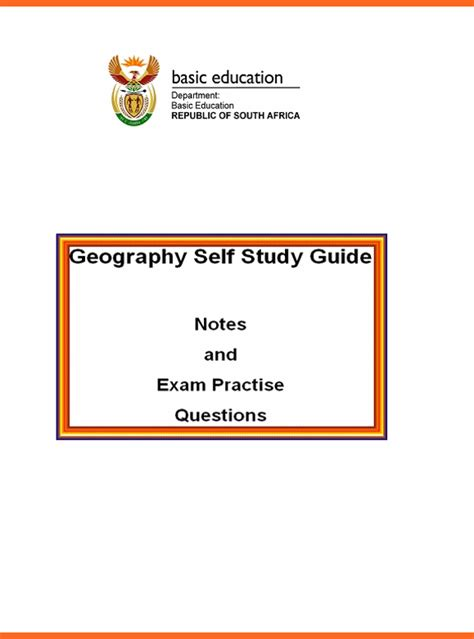 Grade 12 Geography Past Exam Papers Term 1