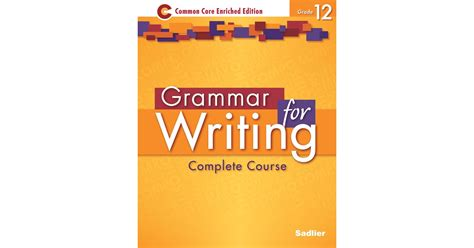 Grammar For Writing Level Gold Answers