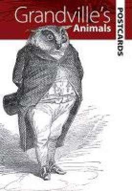 Grandville S Animals Dover Electronic Clip Art