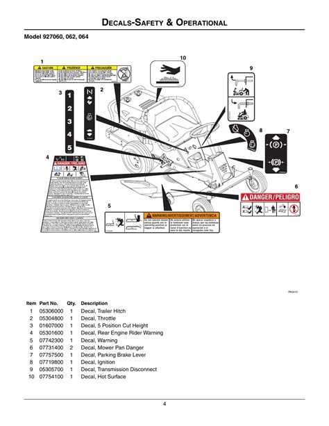 Gravely 927060 Service Manual