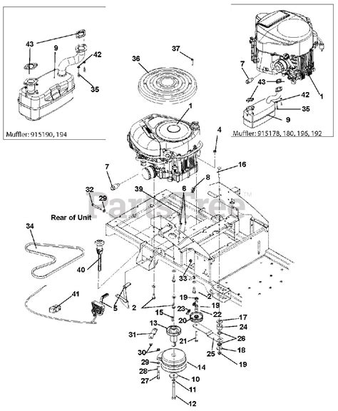 Gravely Tractor Parts Diagram