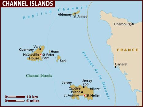Great Britain Leisure Maps: Channel Islands (Holiday maps)