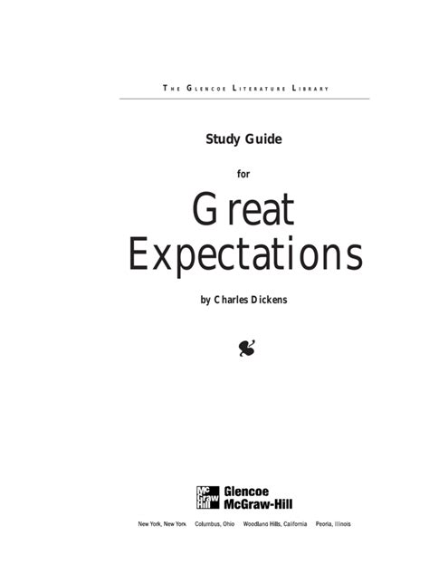 Great Expectations Study Guide Mcgraw Hill Answers