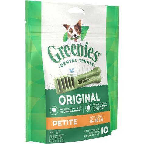 Greenies Snack Dental Para Perros De 8 A 11 Kg Petite