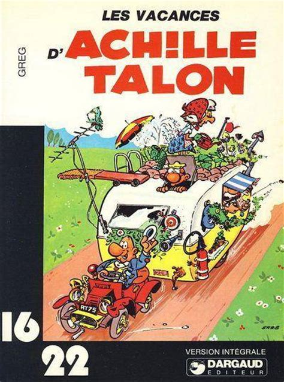 Greg Les Vacances D Achille Talon Dargaud 16 22 1977