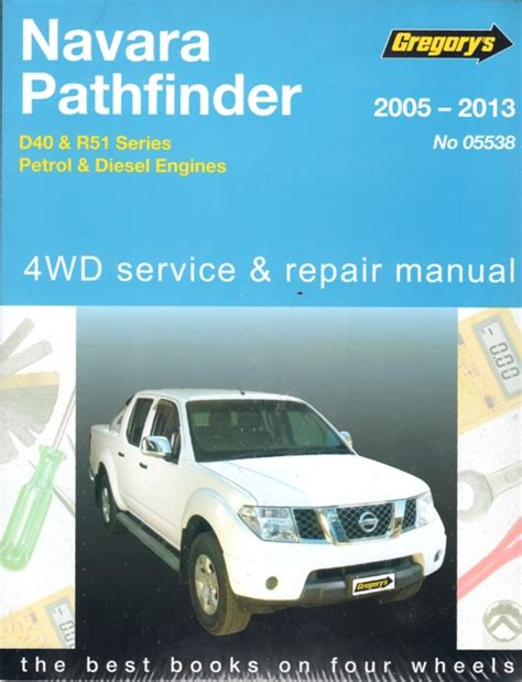 Gregorys Repair Manuals Nissan Pathfinder 2016