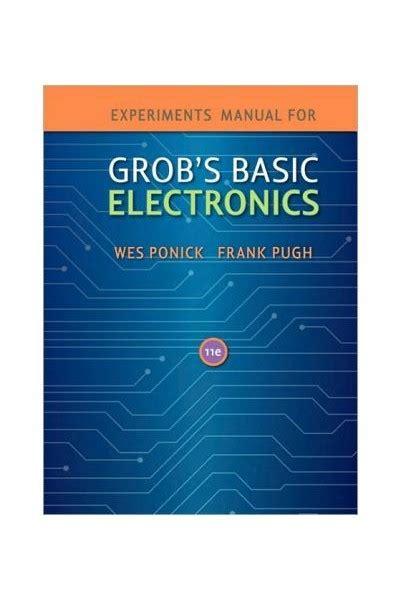 Grob Basic Electronics Lab Manual