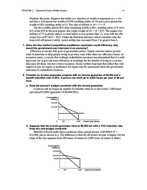 Gruber Exercises Public Finance Solutions Manual