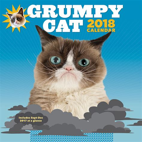 Grumpy Cat 2018 Calendar